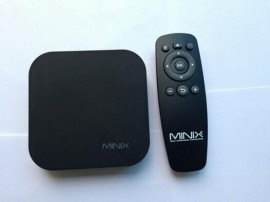 ТВ-приставка, Миникс нео мини X5 Android TV Box Mini PC,  WiFi, Поддержка HDMI, XBMC, Media Player