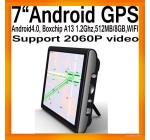 GPS-навигатор на Android 4.0, WIFI, Boxchips A13 1.2 ГГц, 512 Мб SDRAM …