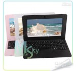 10 inch 8850 notebook Android 4.0 VIA8850 Cortex A9 1.5GHZ HDMI WIFI 512MB 4GB netbook pc Black, white, Pink
