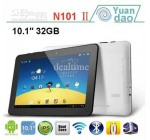 "10.1""Android 4.0 RK3066 1.6GHz 32GB Dual Camera Bluetooth dual core Yuandao N101 Tablet PC"