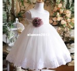 1 PC 2013 Retail Summer Girls Formal Dresses Flower Wedding Princess C …