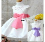 186 Crystal bow princess dress princess dress 0.55 30X4 = 120 Children …
