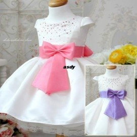 186 Crystal bow princess dress princess dress 0.55 30X4 = 120 Children's Dresses Baby & Kids Clothing Baby, Kids & Maternity