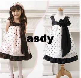 Summer New girls dress, bow princess dress, Children lace dress, kids noble fairy dress high quality dress up princess dress dresses fashion dress high quality
