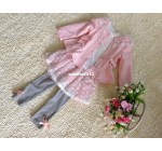 13 spring female child three piece set g8654 spring flowers children c …