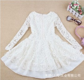 2013 new summer models beautiful lace dress girls dress children tutu skirt wholesale Korean children Children Skirt Kids Children Skirt