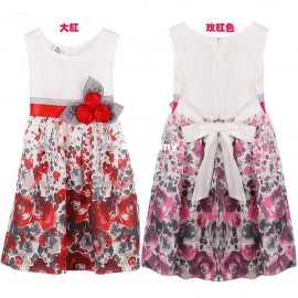 Cheap Dresses on Sale at Bargain Price, Buy Quality Dresses from China Dresses Suppliers at Aliexpress.com:1,suitable season:summer 2,Pattern Type:Floral 3,Style:Casual 4,Department Name:Children 5,Skirt bottom:other skirt bottoms