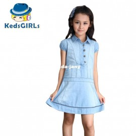 Cheap Dresses on Sale at Bargain Price, Buy Quality Dresses from China Dresses Suppliers at Aliexpress.com:1,Pattern Type:Solid 2,suitable season:spring and summer 3,Silhouette:A-Line 4,Sleeve Length:Short 5,Decoration:Button
