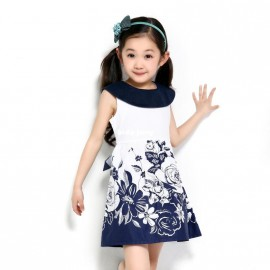 Cheap Dresses on Sale at Bargain Price, Buy Quality Dresses from China Dresses Suppliers at Aliexpress.com:1,Style:Casual 2,Department Name:Children 3,Skirt bottom:ruffle 4,Dresses Length:Knee-Length 5,Pattern Type:Floral