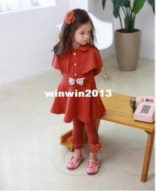 children Korean girls shoulder waist bowknot dress free shipping Dresses Cheap Dresses children Korean girls sho