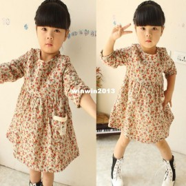 Children's clothing 2014 female child fancy thickening plus velvet long-sleeve dress Dresses Cheap Dresses China Dresses Suppliers