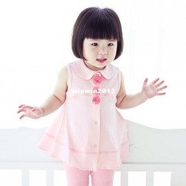 Winter Dress Casual New 2014 summer female child clothing baby solid color turn-down collar 80039 princess one-piece dress Dresses Cheap Dresses China Dresses Suppliers