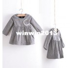 2013 autumn and winter girls clothing child thickening velvet qz-1105  …