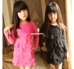 2013 female child spring and autumn children's clothing child layered …