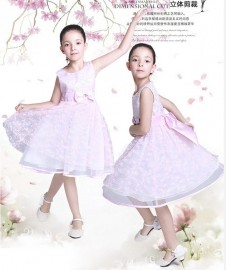 Children's Dresses 2014 Summer Cute Princess Dress European and America Style Free Shipping Children Dresses Summer New 2014 Flower Girl Dresses