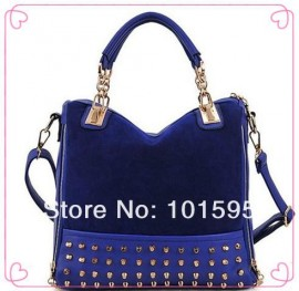 Cheap shoulder bag tote bag, Buy Quality bag bags directly from China bag hand bag Suppliers:New 2013 fashion female velvet handbag rivet shoulder bag stitching flannel bag high quality free shipping&n