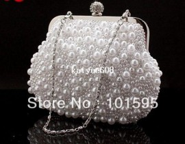 Cheap clutch handbag, Buy Quality bag fashion directly from China clutch silver handbags Suppliers:Lady's Luxurious Pearl Evening Bag Fashion Embroidery Beads Clutch Handbags with Chain Clutch Purse Free Shipping &