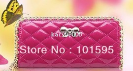 Cheap bag free shipping, Buy Quality wallet purse bag directly from China bag wallet Suppliers:2013 New fashion long handbag lady wallet bow butterfly women wallet message bag free shipping Pa