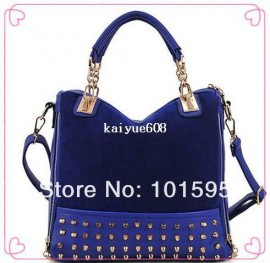 Cheap shoulder bag tote bag, Buy Quality bag bags directly from China bag hand bag Suppliers:Drop shipping fashion handbag female bag rivet shoulder bag stitching flannel bag free shipping &