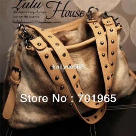 "Cheap women handbag, Buy Quality women fashion handbag directly from China women shoulder handbags Suppliers: Colors for selection:Brown Packing Weight:850g Material:PU Leather Detailed Size:Medium:13.8""(Length)&t"