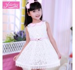 2014 summer childrens clothing female child one-piece dress child gentlewomen embroidery lace princess dress Dresses Cheap Dresses China Dresses Suppliers