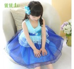 Children's clothing female child summer one-piece dress child princess …