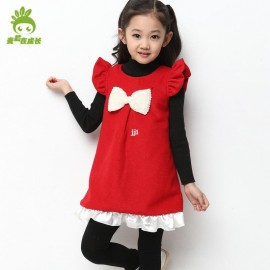 Autumn children's clothing 2014 autumn female child baby tank dress sweet child casual one-piece dress Dresses Cheap Dresses China Dresses Suppliers