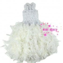 Cheap Dresses, Buy Directly from China Suppliers: Material:Lace ,Feathers sleeve length of children:None sleeve s