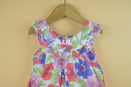 Girls Dress New Designer 100% cotton 2014 summer flower child clothing baby dress princess dress summer child dress Dresses Cheap Dresses Girls Dress New Designer