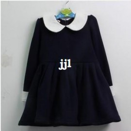 girl clothing 2014 lolita style spring thicken dresses 2-8 free shipping 2 color Dresses Cheap Dresses China Dresses Suppliers