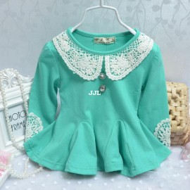 new 2014 summer baby child girl dress Lace girls casual dresses clothes clothing costumes for kids Bottoming shirt t shirts D-1 Dresses Cheap Dresses new 2014 summer baby chil