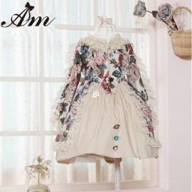 Wholesale 2014 New Winter-Spring brand Baby Girls lace dress Vintage princess dresses Children Costume kids party clothing Dresses Cheap Dresses Wholesale 2014 New Winter