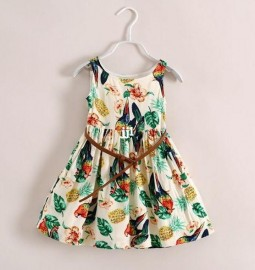 2014 Summer new arrival girls dress floral princess girl dresses designer dress fashion children clothes kids clothing Dresses Cheap Dresses 2014 Summer new arrival g