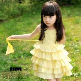 Brand New 2014 Girl Clothing Lolita Style Girl Summer Princess Dresses Sleeveless Tiered Ball Gown Kidsdress Free Shipping Dresses Cheap Dresses China Dresses Suppliers