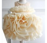 Exclusive promotions!2014 flowers layer column style dress. Princess d …
