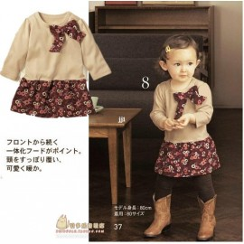 NEW Children's clothing baby clothes female child baby spring 2014 clothes 100% cotton long-sleeve tulle dress one-piece dress dress glitter dresses looks dress german