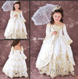 retail 2014 new summer girls dress children's clothes princess horn Especial exquisite lace embroidery beautiful dresses H371 Dresses Cheap Dresses retail 2014 new summer gi