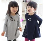2014 autumn sweet cherry paragraph girls clothing baby expansion botto…