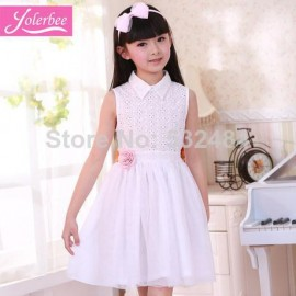 2014 summer wear the new childrens clothing han edition dress children cotton embroidered veil princess dresses of the girlsfree shipping Dresses Cheap Dresses 2014 summer wear the new