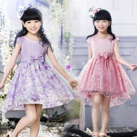 Children's clothing 2014 female big child princess little girl one-piece dress child pompon formal tulle dresses For 4-15Yearsfree shipping Dresses Cheap Dresses China Dresses Suppliers