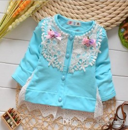 2014 Baby clothes Girls Dresses Children Girl Lace Dress Floral Long Sleeve Flower Autumn Winter Kids Clothing Cardigan Tutu Dresses cardigan autumn girls dresses
