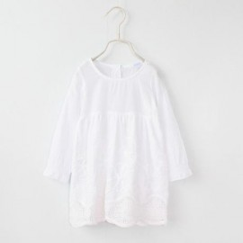 2014 Autumn Korean version of the new female models white lace long-sleeved dress children clothing baby son qz-2061 frozen 2014 baby boy clothes boys