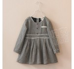 2014 Autumn Korean version of the new childrens clothing female baby l …