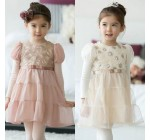 2014 Autumn Korean version of the new childrens baby Rose Yarn Girls l …