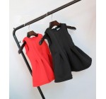 2014 Autumn Korean baby Girl party Dress fashion sleeveless cotton Chi …