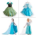 1pieces retail, Frozen Elsa costume custom size for kids princess dres …