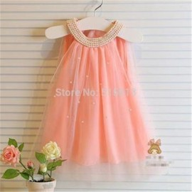 New hot 2014 Korean girl dress, children fairy chiffon clothings, high quality kids clothes, 2-7yrs baby girl pearls collar dresses dress a dress dress wizard dress pvc
