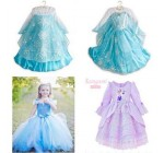 1 Piece 2014 Anime Movie Frozen Queen Girls Deluxe Elsa Snow Queen Fan …