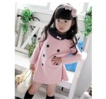 2013 Korea fashion baby girls dress cute pink color 3 - 8 years childr…