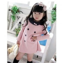 2013 Korea fashion baby girls dress cute pink color 3 - 8 years childrens princess dress on sale kids dress free shipping dress tan dresses for large ladies dress grace